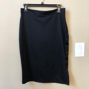 Dresses & Skirts - Women's black knit skirt